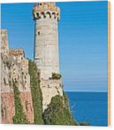 Forte Stella Lighthouse - Portoferraio - Elba Island Wood Print