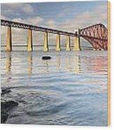 Forth Railway Bridge Wood Print
