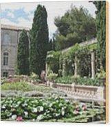 Fortress Garden  Villeneuve Les Avignon Wood Print