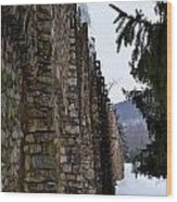 Fortress Walls Wood Print