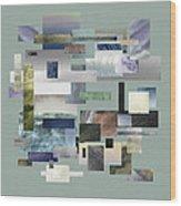 Forty Nine Shades Of Gray IIi Wood Print
