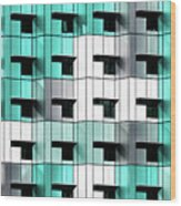 Forty Windows Wood Print