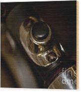 Forward Controls 1947 G Servi Car Wood Print by Wilma  Birdwell