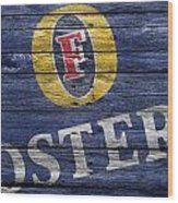 Fosters Wood Print