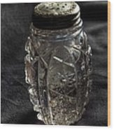 Found  Salt Shaker Wood Print by   Joe Beasley