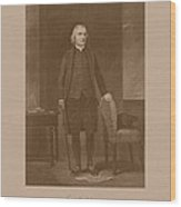 Founding Father Samuel Adams Wood Print by War Is Hell Store