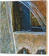 Fountain 2 Wood Print