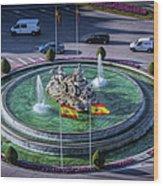 Fountain Of Cebeles II Wood Print