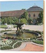 Fountain - Orangery - Belvedere Wood Print