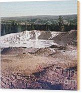 Fountain Paint Pot Yellowstone National Park Wood Print