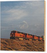 Four Engines Wood Print