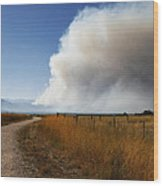 Four Mile Canyon Fire Colorado Wood Print