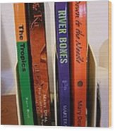 Four Of My Ten Books Published Wood Print