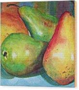 Four Pears Art Blenda Studio Wood Print