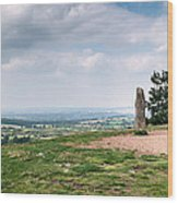 Four Standing Stones On The Clent Hills Wood Print