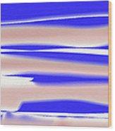 Four Streaks Across The Sky Wood Print