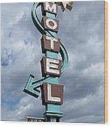 Four Winds Motel Wood Print