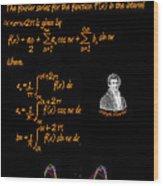 Fourier Series Wood Print