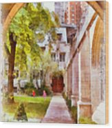 Fourth Presbyterian - A Chicago Sanctuary Wood Print by Christine Till