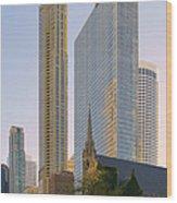 Fourth Presbyterian Church Chicago Wood Print