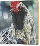 Fowl Martyr Wood Print