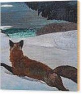 Fox Hunt 1893 Wood Print