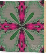 Fractal 002 Wood Print