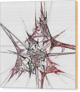 Fractal 057 Wood Print