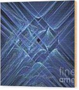 Fractal 063 Wood Print