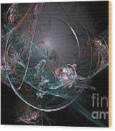 Fractal 073 Wood Print