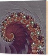 Bejeweled Tentacle Wood Print