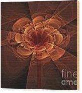Fractal 109 Wood Print