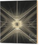 Fractal 110 Wood Print