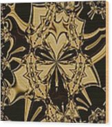 Fractal 15-01 Wood Print