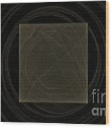 Fractal 21 Box Wood Print