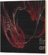 Fractal 26 Garvbage Wood Print