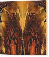 Fractal Abstract 15-01 Wood Print