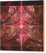 Fractal - Abstract - The Essecence Of Simplicity Wood Print