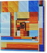 Fractal Abstract11 Wood Print