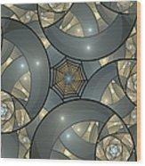 Fractal Art Deco  Wood Print
