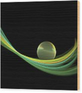 Fractal Balance Wood Print