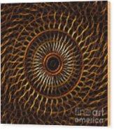 Fractal Design Wood Print