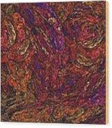 Fractal Florist Wood Print