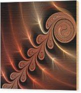 Fractal Ikarus Wood Print