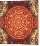 Fractal Julian Wood Print