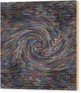 Fractalia For New York H B Wood Print
