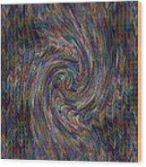 Fractalia For New York V A Wood Print