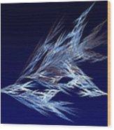 Fractals - Birds In Flight Wood Print