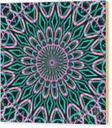 Fractalscope 21 Wood Print