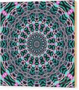 Fractalscope 22 Wood Print